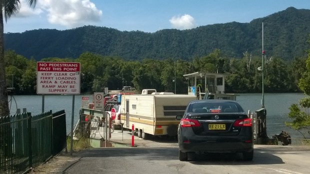 Daintree River Ferry