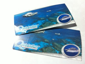 Great Barrier Reef cruise tickets