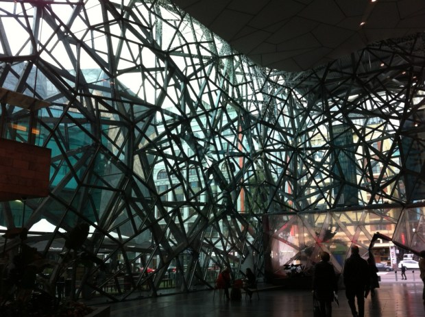 Atrium, Federation Square, Melbourne