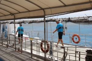 Agincourt Reef pontoon staff