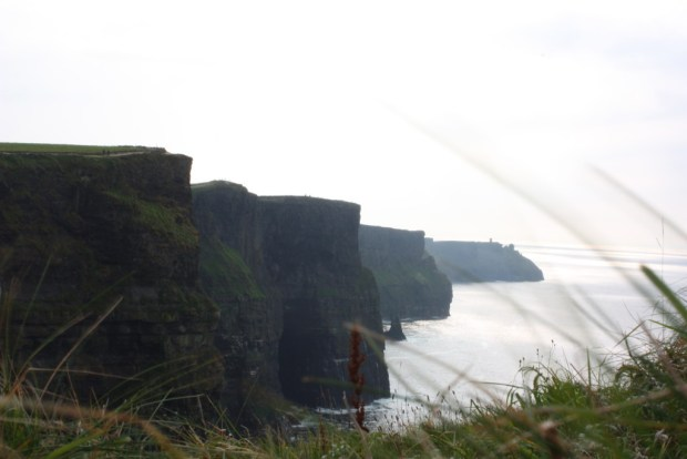 Cliffs of Moher, Road trip in Ireland
