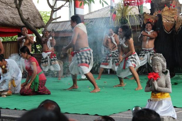 Barong dancers of Batubulan, Bali day trip by car