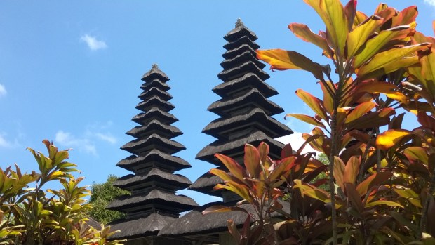 Maru towers, Pura Taman Ayun, Bali