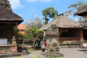 Pura Desa temple, drive in Central Bali