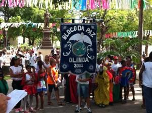 Olinda Carnival parade starting