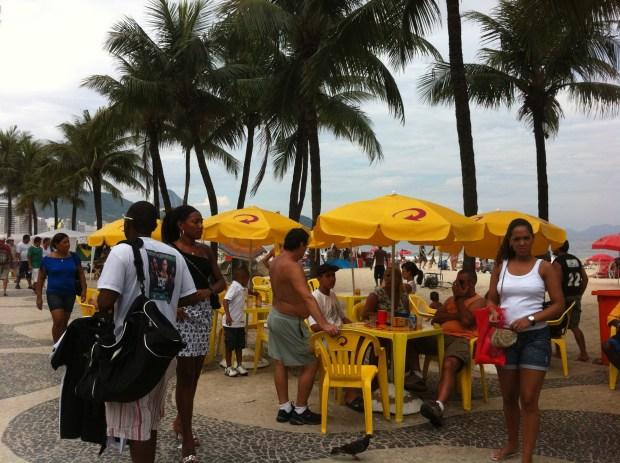 Local life at Copacabana