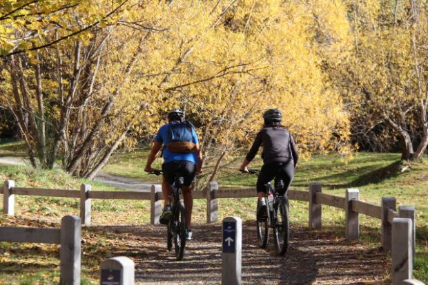 Arrowtown cycling