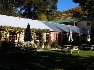 Cardrona Hotel garden