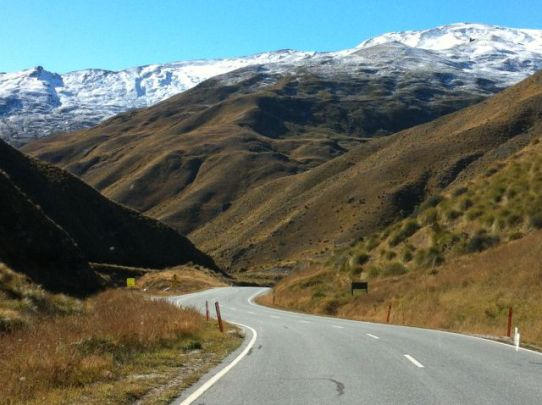 Queenstown to Mount Cook via the Cardrona Road