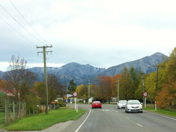Driving from Christchurch to Greymouth