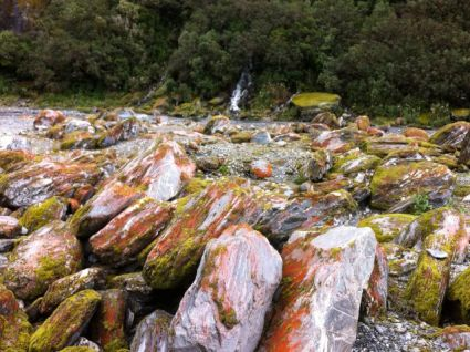 Franz Josef Glacier stones