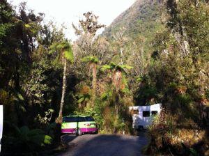 Franz Joseph Rainforest Holiday Park powered sites