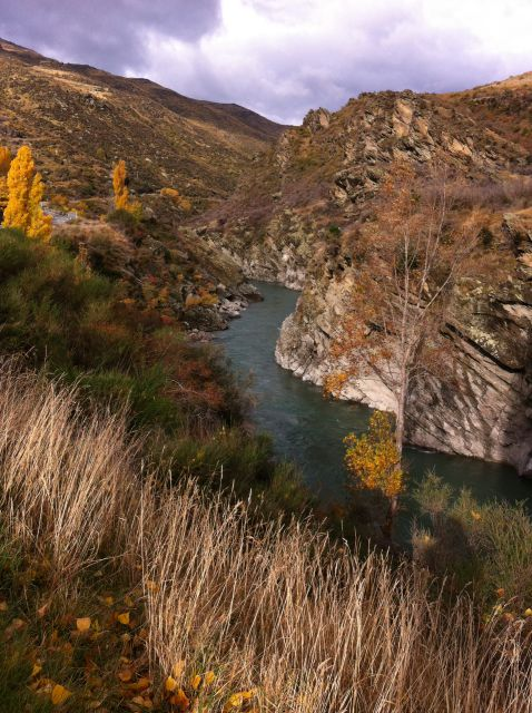 Kawarau Gorge autumn view