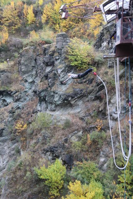 Kawarau Gorge bunji jumping