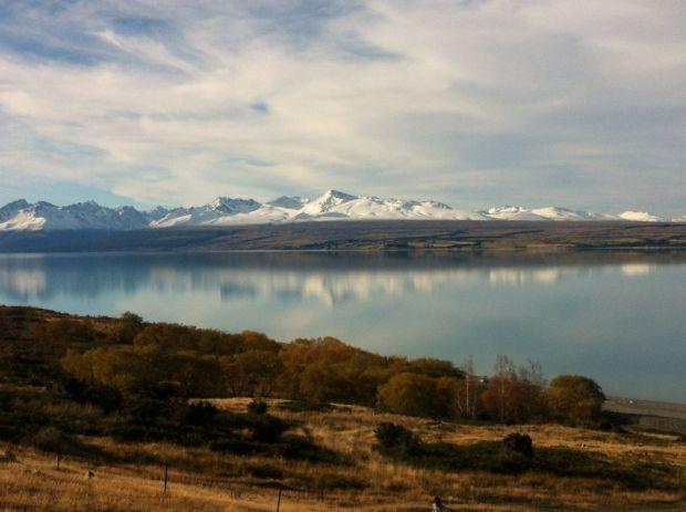 Lake Pukaki, Mount Cook to Christchurch