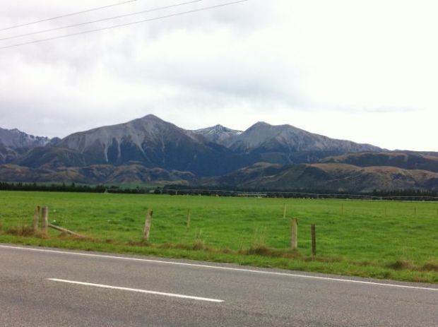 Mountains Christchurch to Greymouth