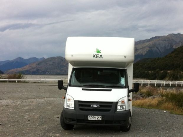 Christchurch to Greymouth by campervan