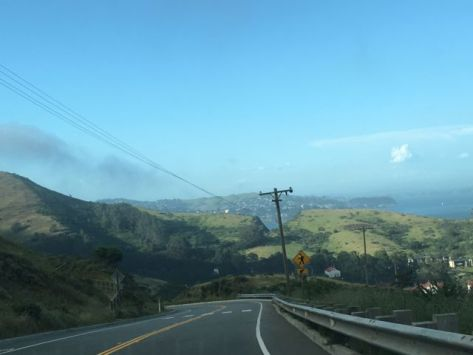 Driving to Muir Woods