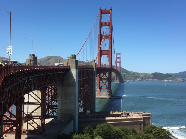 Golden Gate and Fort Point