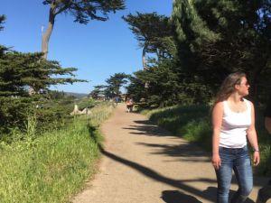 Golden Gate Bridge Lands End walking track