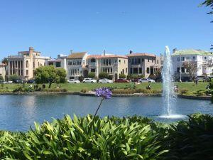 Palace of Fine Arts park view