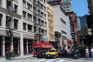 San Fransisco city tour bus