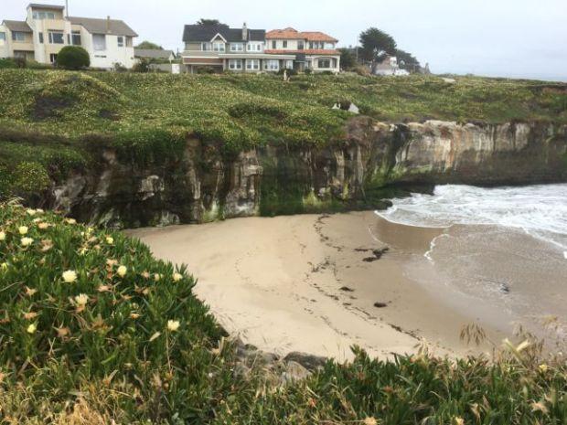 West Cliff Drive beach