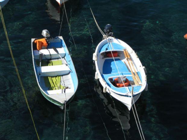 Cinque Terre fishing boats
