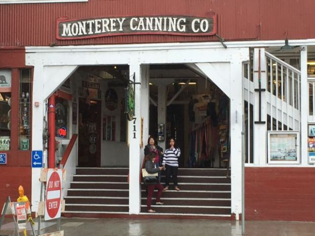 Coastal drive San Francisco to Monterey: Cannery Row