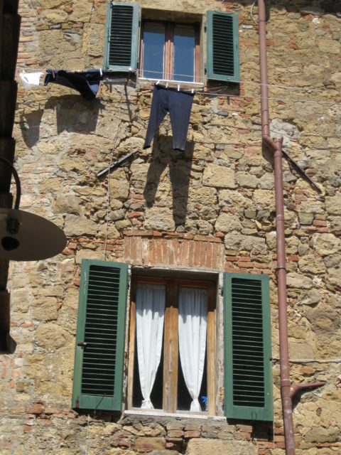 Monticchiello house