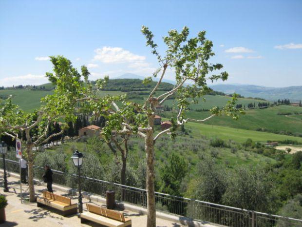 Monticchiello view