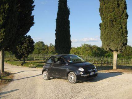 Tuscany scenic drive road trip