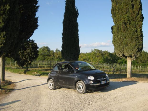 Tuscany scenic drive, a road trip in the Italian countryside