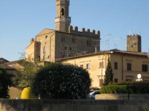 Tuscany scenic drive Volterra