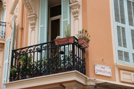 A Monaco balcony