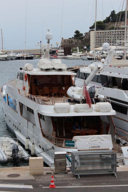 A Monaco yacht