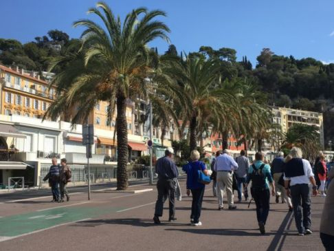 Nice in one day, walking on Promenade des Anglais
