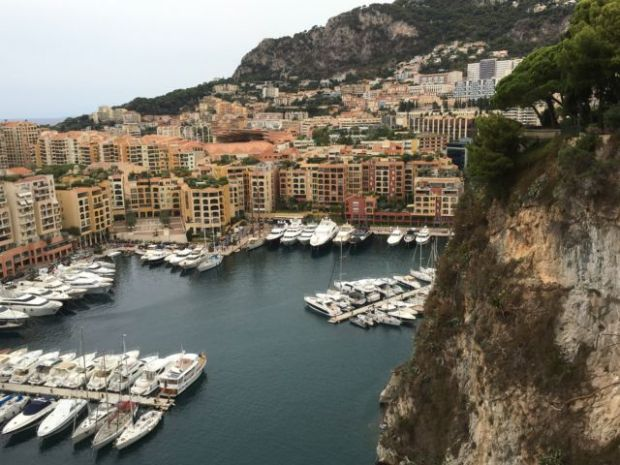 Fontvieille from the rock