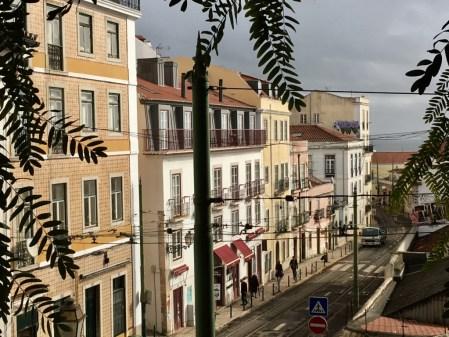 Alfama street view