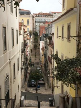 Bairro Alto street Lisbon
