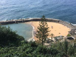 Calheta beach, Western Madeira