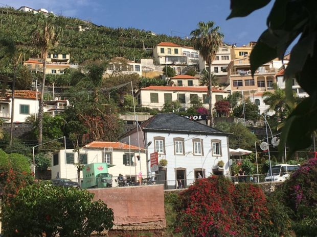 Camara de Lobos fishing village