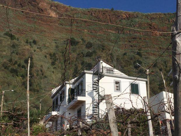 Road trip to Western Madeira Jardim do Mar house