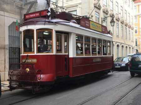 Lisbon tourist tram