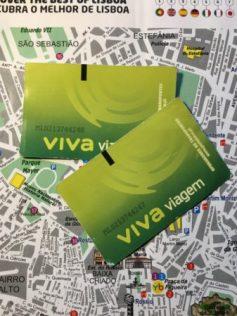 Lisbon tram tickets Viva Viagem