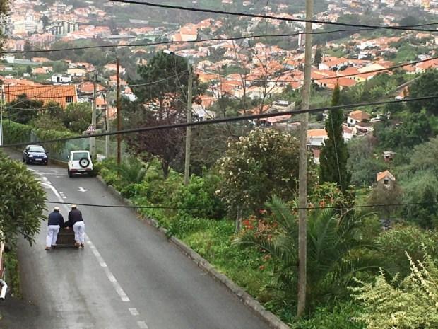 Monte toboggan road, Santana day trip from Funchal