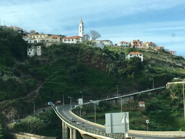Via Expressa from Santana to Funchal