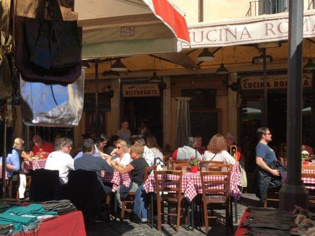 Campo dei Fiori restaurant, Rome