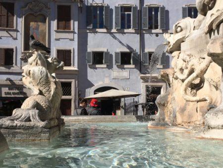 Piazza della Rotonda fountain