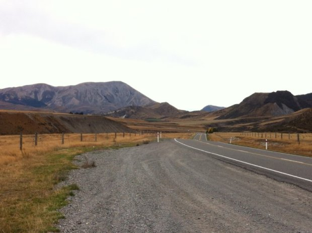 Christchurch to Greymouth: driving on from Castle Hill